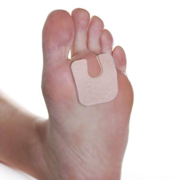 U Shaped Foot Pad Felt 1/8 inch - 100 package 3