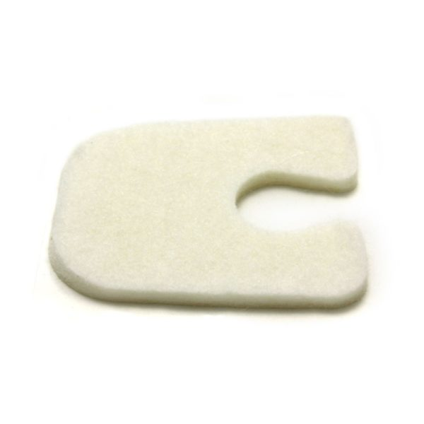 U Shaped Foot Pad Felt 1/8 inch 5