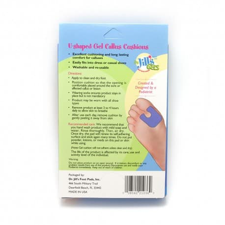 Gel U-Shaped Foot Pads - Gel 2