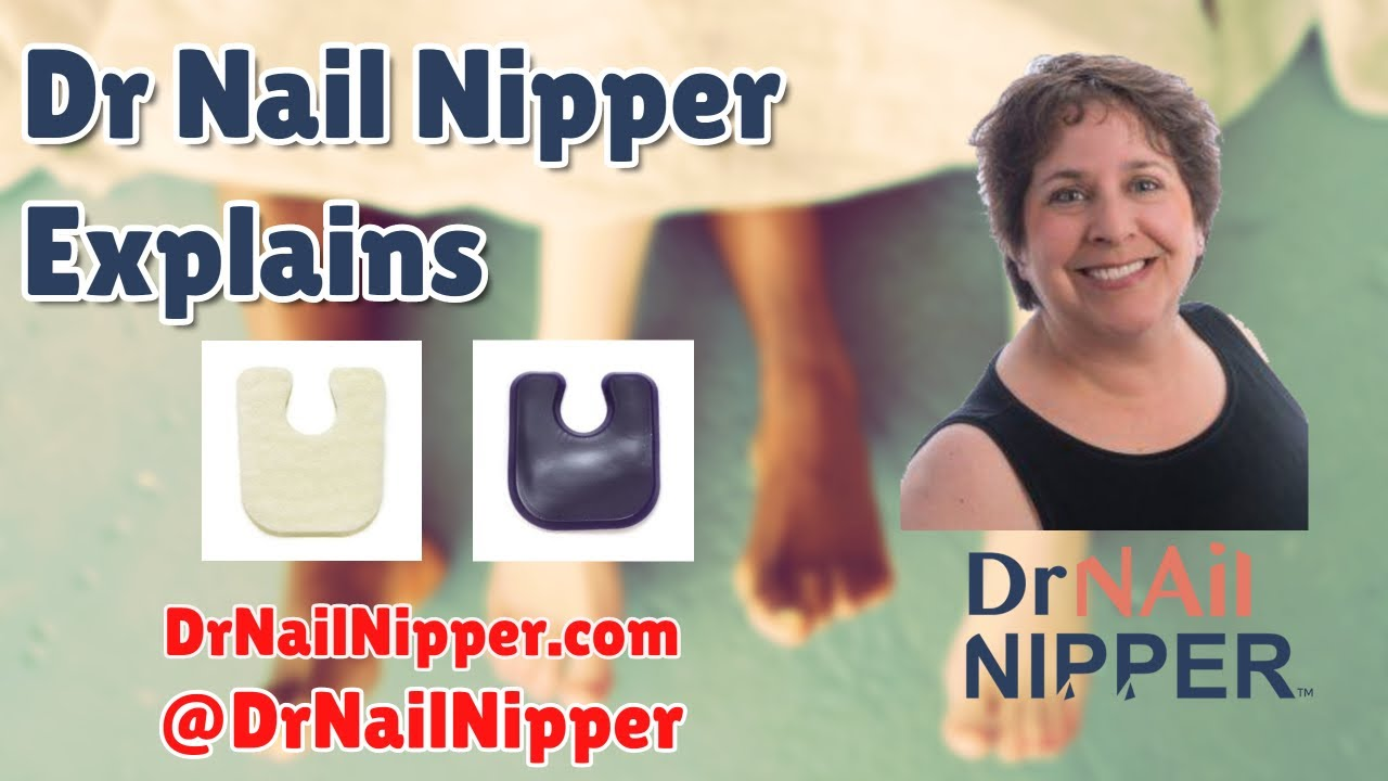 Dr Nail Nipper Explains - U-Shaped Foot Pads  [Wednesday Wedge] (2020) 1