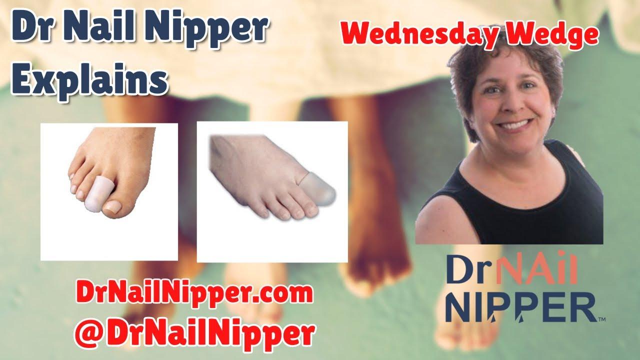 Dr Nail Nipper Explains - Gel Toe Cap [Wednesday Wedge] (2020) 1