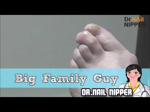 When Getting Nail Care is Like Getting a Haircut  - Big Family Guy 1